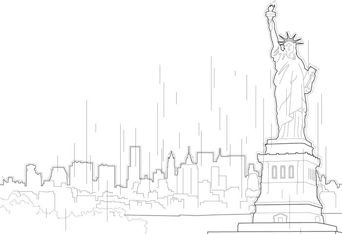 Illustration Freiheitsstatue