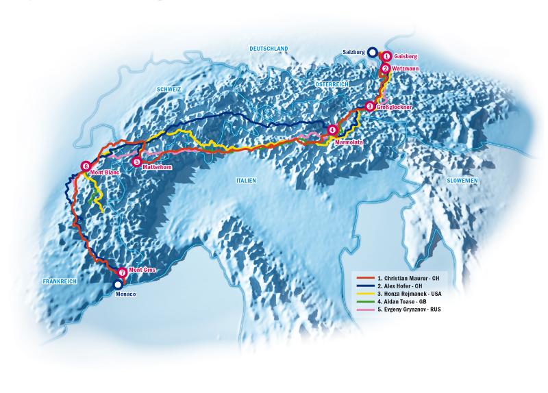 Infografik Alpen xalps
