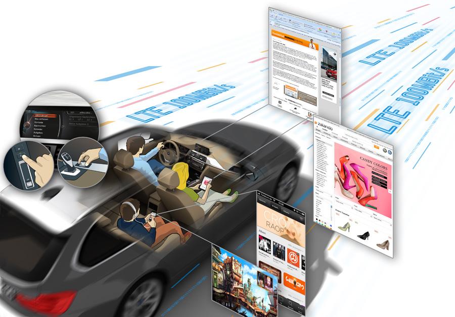 BMW LTE Cebit