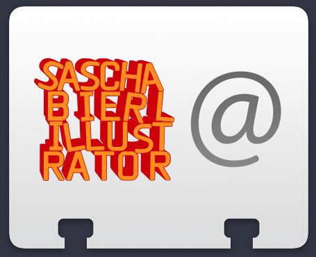 Sascha Bierl Illustrator Visitenkarte